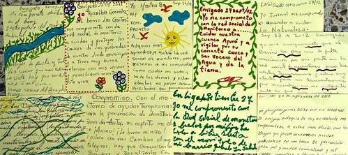 Cartas de Amor de los Voceros del Agua y de la Tierra de Envigado