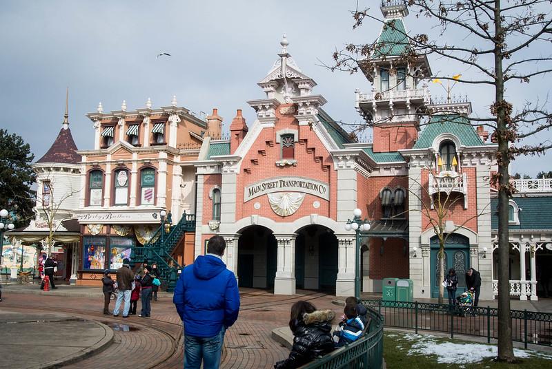 Disneyland Paris Main Street USA