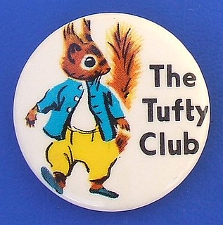 The Tufty Club - membership badge (1960's / 1970's)