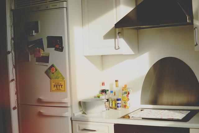 kitchen & morning sun