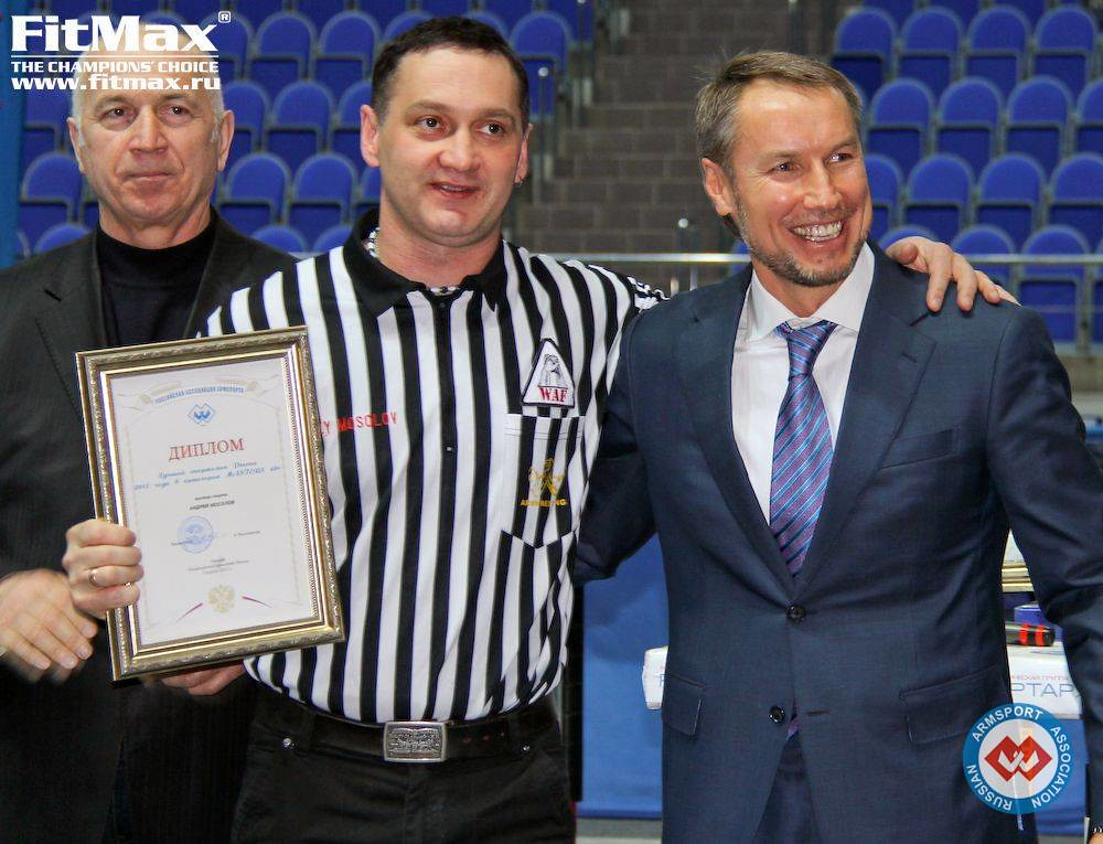 Andrey Mosolov, Alexander Filimonov - President of Russian Armsport Association (RAA)