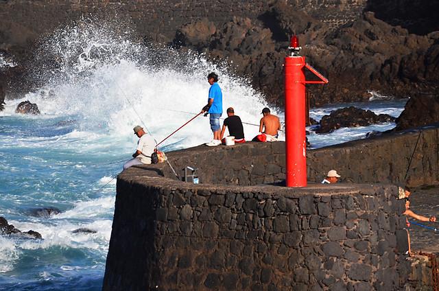 Fishermen, Puerto de la Cruz, Tenerife