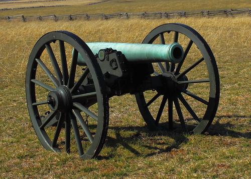 Artillery Piece - Pea Ridge National Military Park, Nortwest Arkansas