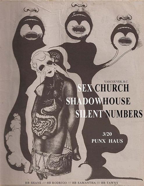 3/20/13 SexChurch/Shadowhouse/SilentNumbers