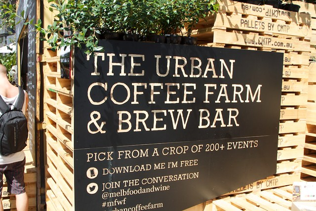 The Urban Coffee Farm and Brew Bar Sign