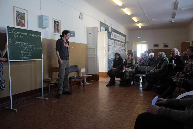 В Рыбинской гимназии. Выездной миссионерский семинар 7-10 марта 2013