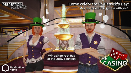 Shamrock Hats are up for grabs! (Digital Leisure)