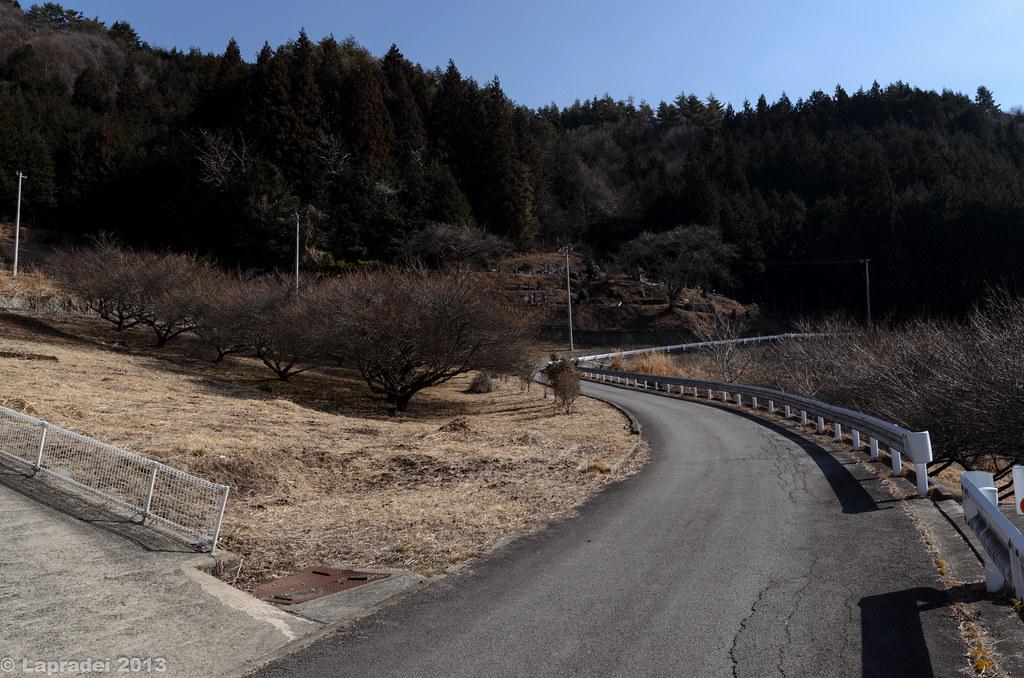 20130303 乾徳山登山口バス停近く