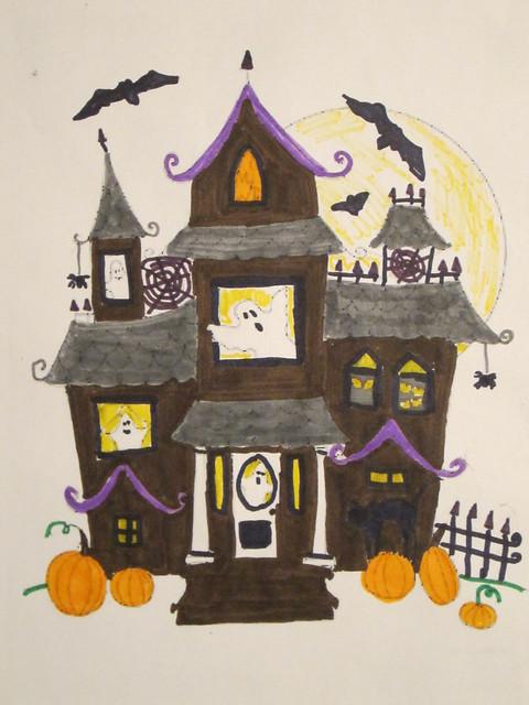 Sketch Drawings Of Houses