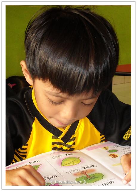 8555322403 0fc1c1715d z Cara saya memikat abang baca buku | tip ajar anak baca buku