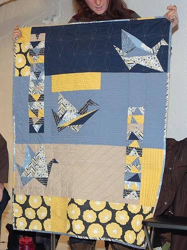 Rozina's Madrona Road Challenge quilt