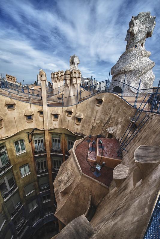 Barcelone - La Pedrera