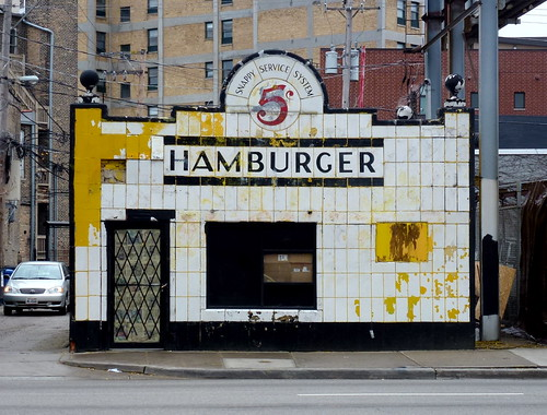 Hamburger - Ashland & Division - Chicago