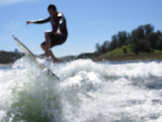 Mid March Wakesurfing 411