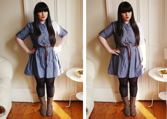 primark denim shirt dress 5