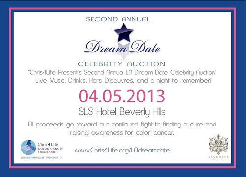 2nd annual la dream date celebrity auction