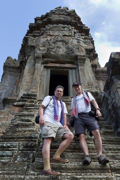 Rick and Brian visit Angkor Wat.