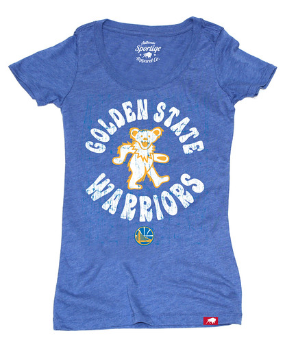 Women's Golden State Warriors Grateful Dead Shirt