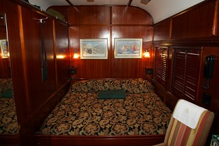 Sleeping cabin aboard the Pride of Africa