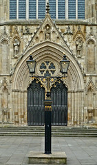West Door, York Minster