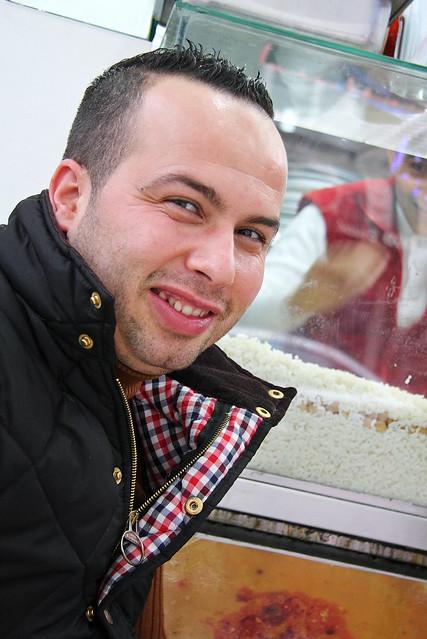 Smiling man in Kadikoy, Istanbul, Turkey カドゥキョイ、笑顔の男性
