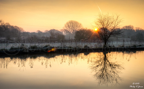 sunrise nikon cheshire cana hdr middlewich trentandmersey 3xp photomatix d7000