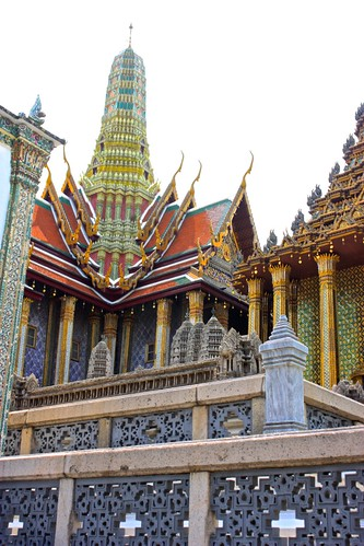 Wat above the Angkor Wat model