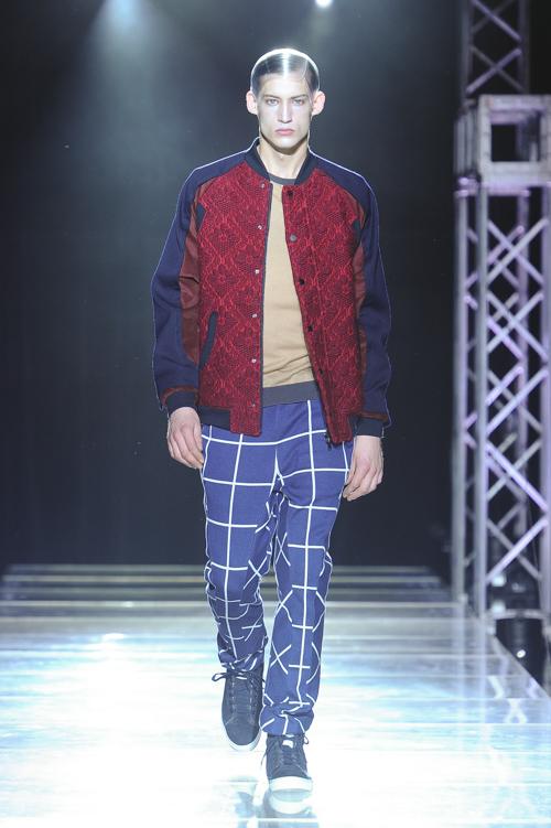 FW13 Tokyo yoshio kubo009_Henrry Evans(Fashion Press)