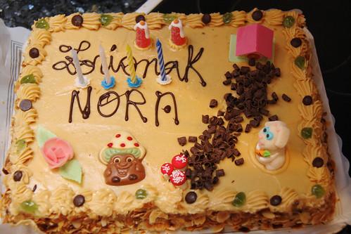 Nora's Fourth Birthday