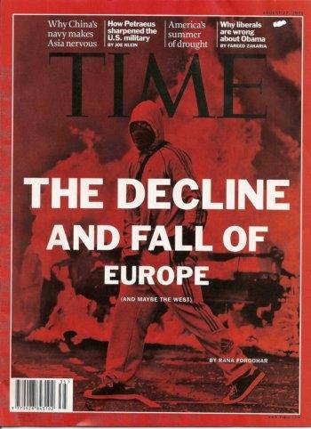 11h12 Times Decadencia de Europa baja