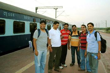 Subhadip, Joy, Biswajit, Ashish, Subherjit & Subhadip