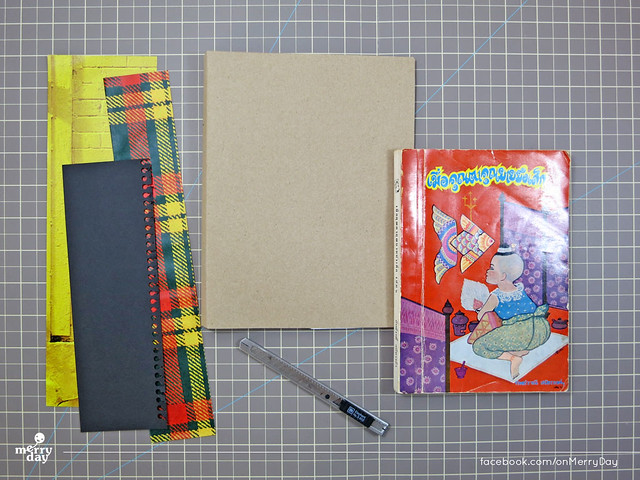diy making book jacket from toothpaste boxes14