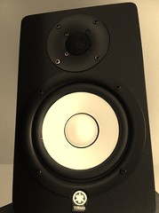 studio monitor, loudspeaker, subwoofer, electronic device, computer speaker, electronics, sound box,