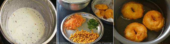How to make thayir vadai - Step4