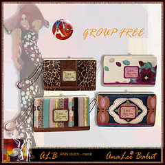 ALB ANN clutch - group FREE by AnaLee Balut