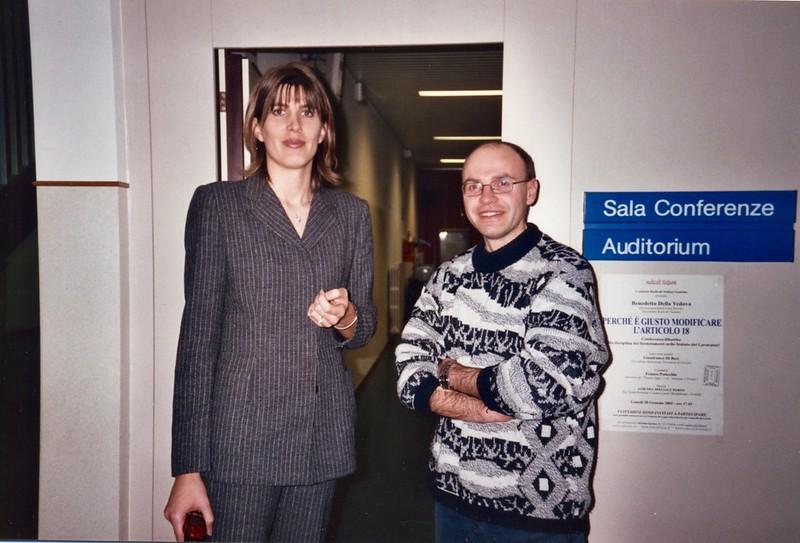 Christina Sponza e Giampaolo Paoletti