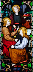 Christ with Mary and Martha at Bethany