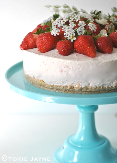 Gluten free Strawberry Cheesecake recipe 2