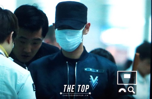 Big Bang - Incheon Airport - 26jun2015 - The TOP - 03