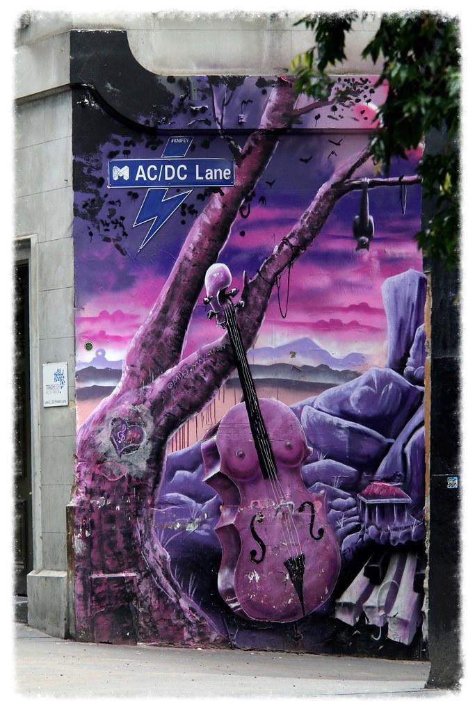 AC/DC LANE MELBOURNE ©