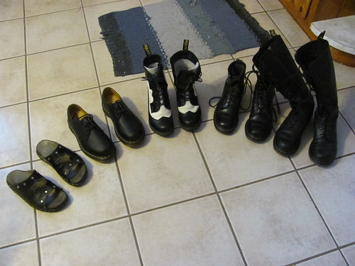 All my Docs clean, wonder balsamed, and polished
