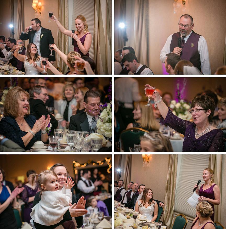 Ritz Charles wedding reception