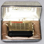 "Vintage Standard ""Micronic Ruby"" Micro Transistor Radio, Model SR-438, Dates to 1965"