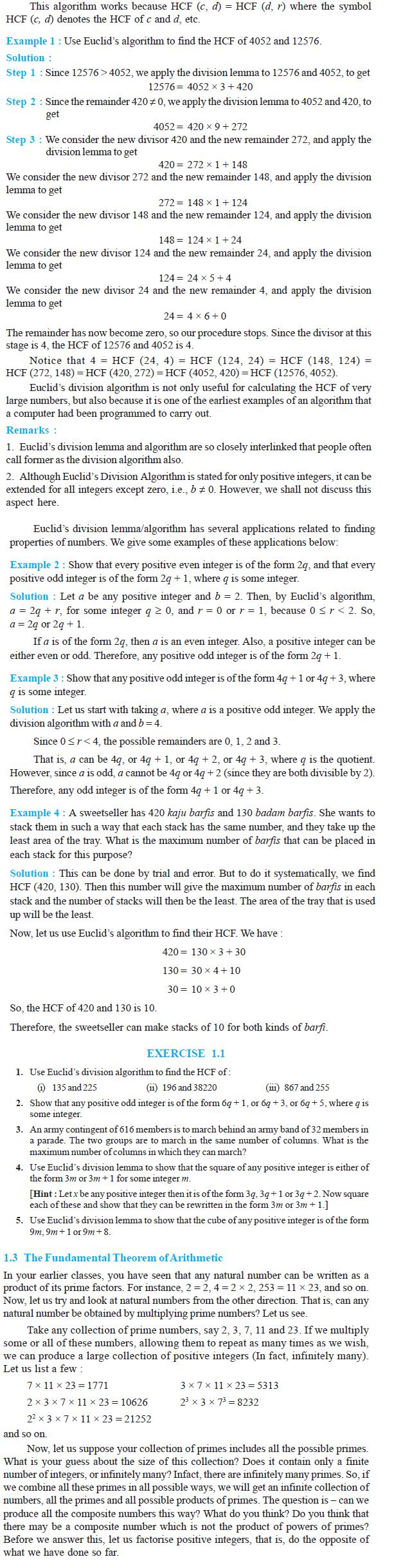 NCERT Class X Maths: Chapter 1 - Real Numbers