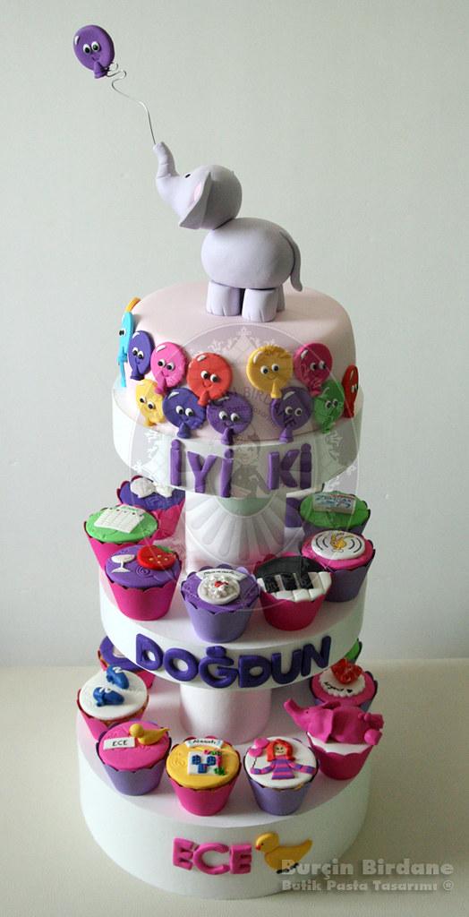 Filli Cupcake kulesi