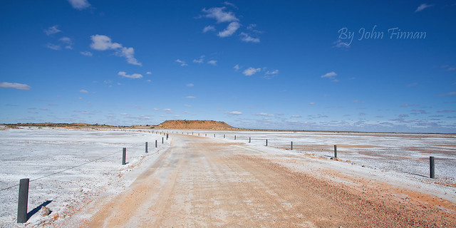 Snow in the Outback ........