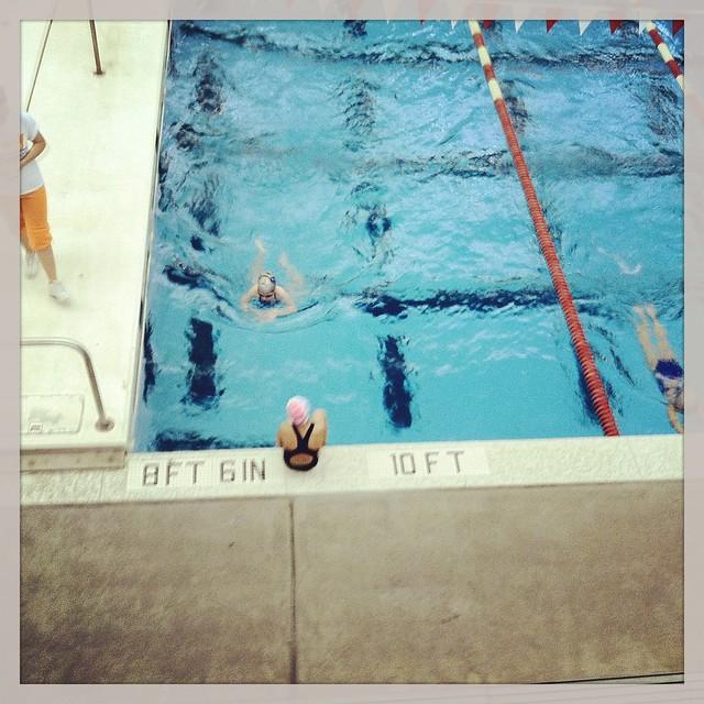 ella swimming