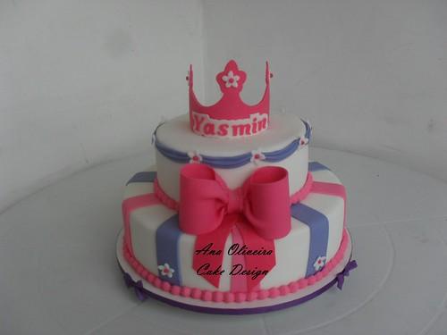 Bolo Princesa by Ana Oliveira Cake Design