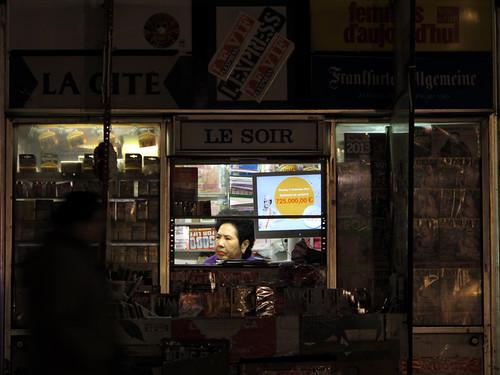 'Le Soir' - Brussels, Belgium 2012