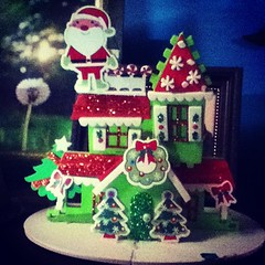 gingerbread house, cake, food, dessert, christmas,